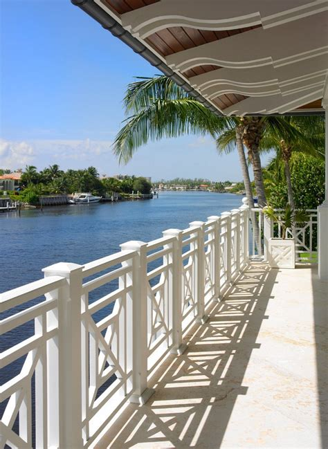 deck railing design beach style with wood porch