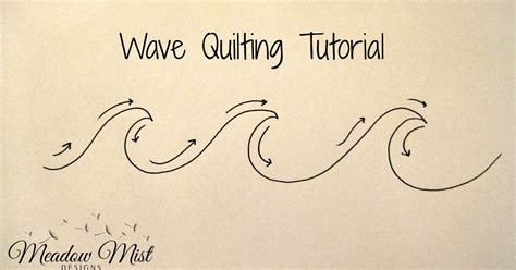 wave tutorial meadow mist designs wave quilting tutorial and february alyof