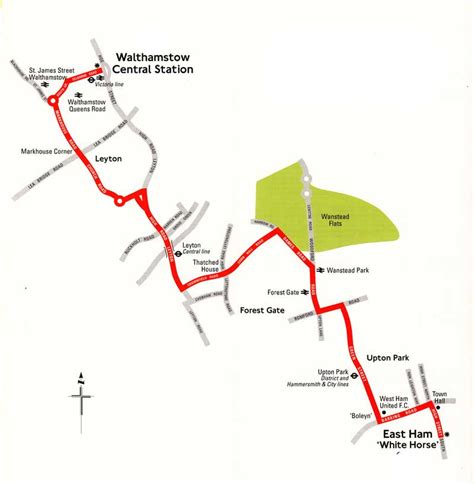 Light Book London Bus Route N58