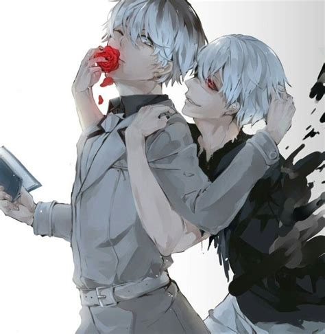 Kaos Kaneki Black Whitekaneki Tokyo Ghoul Spade Anime 86 best images about tokyo ghoul on kaneki ken different types of and childhood friends