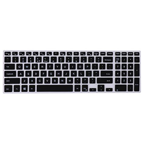Keyboard Laptop Dell by Forito Thin Dell Keyboard Cover For 15 6 Inch Dell Laptop