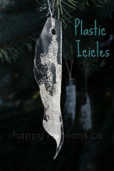 how to make plexiglass icicles for christmas tree in oven in july crafts happy hooligans
