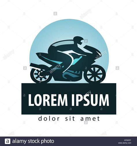 Motorrad Logo Bilder by Motorcycle Vector Logo Design Template Stockfotos