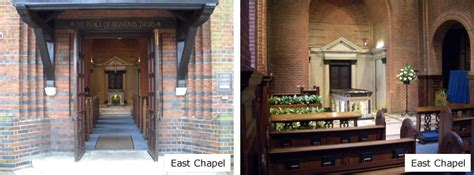 golders green crematorium description of services
