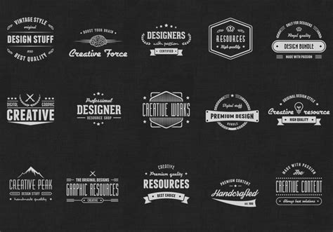 vintage style logo design photoshop vintage logo psd badges free photoshop brushes at brusheezy