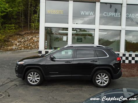 jeep cherokee comfort convenience group 2014 jeep cherokee limited 4wd with low miles for sale in