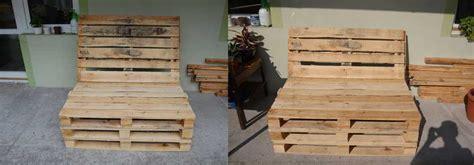 pallet bank bouwtekening gogreenbuddy pallet meubels maken how to