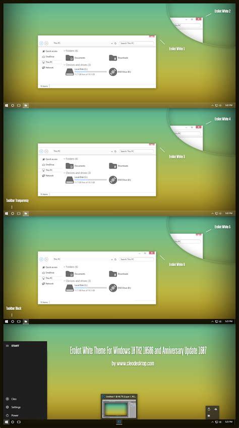 white theme for windows 10 eroliot white theme for windows 10 anniversary update 1607