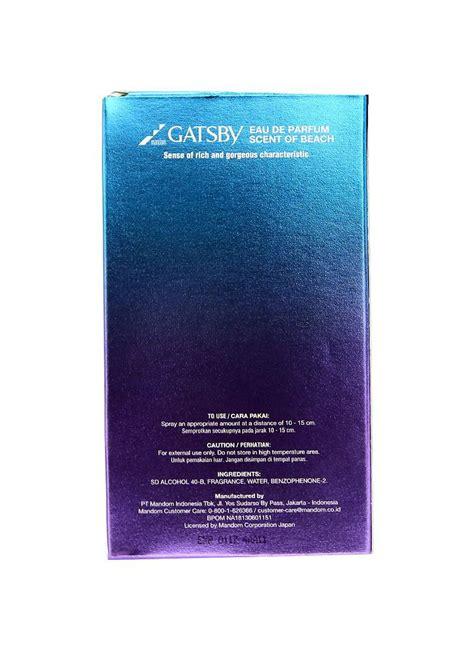Parfum Gatsby gatsby eau de parfum scent of btl 100ml klikindomaret