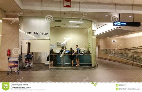 lost bags at united airlines luggage counter editorial luggage counter at changi airport editorial photo image
