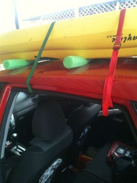Kayak Rack For Sedan by Kayak Rack Kayaks And Car Racks On