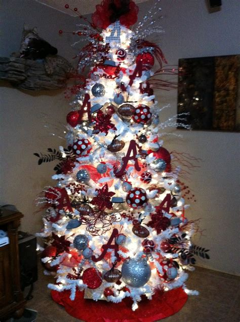 bama christmas tree sweet home alabama pinterest