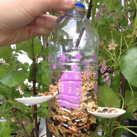 bird feeder recycled bottle crafts