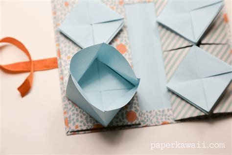 origami book origami thread book tutorial paper kawaii