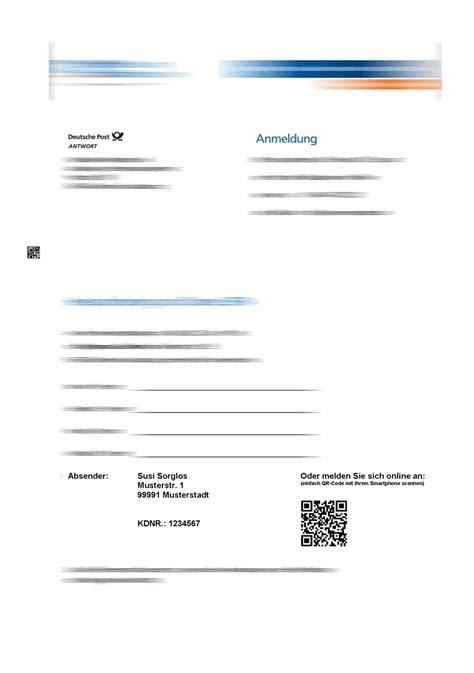 Anschreiben Vertragsunterlagen Mehrteilig Personalisiert Kuvertieren K S