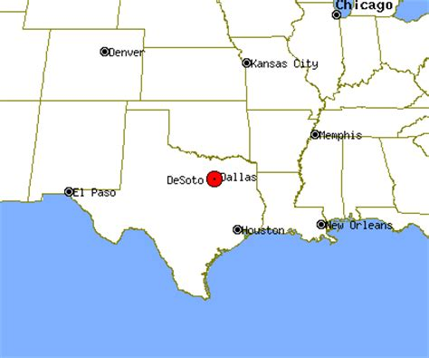 map of desoto texas desoto profile desoto tx population crime map