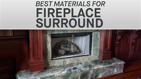 fireplace materials the best materials for your fireplace surround marble