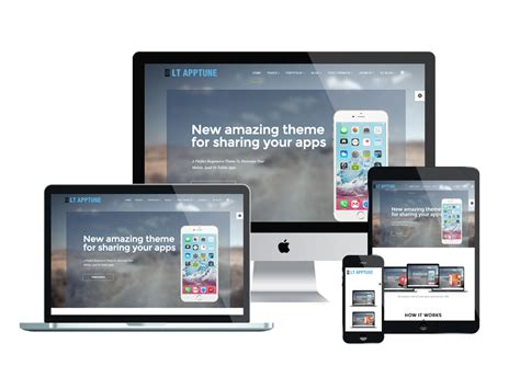 buy mobile app templates lt apptune free joomla mobile app template