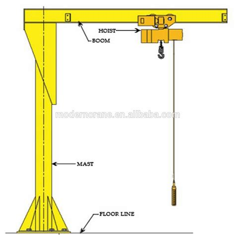 jib crane design high duty new design hydraulic jib crane with design