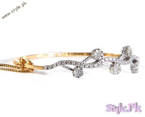 Diamond bracelets for girls   Stylish Bracelet designs in Gold