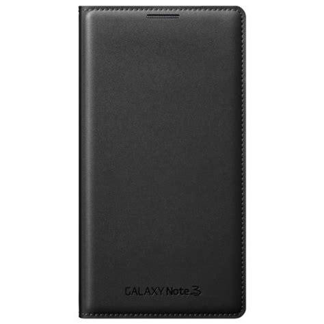 Flip Cover Flip Samsung Note 3 official samsung galaxy note 3 flip wallet cover jet black mobilefun