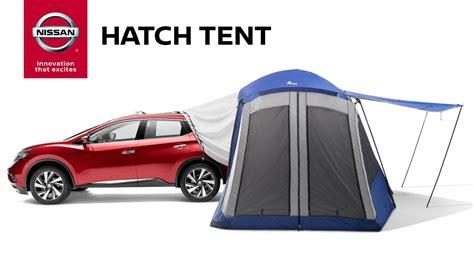 2014 nissan armada accessories hatch tent genuine nissan accessories