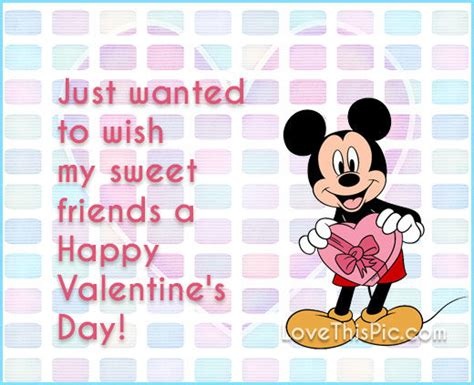 happy valentines day quotes for friends disney happy valentines day quote for friends pictures