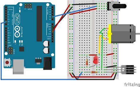 arduino potentiometer wiring diagram arduino thermistor