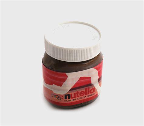 design nutella label re design nutella label on behance