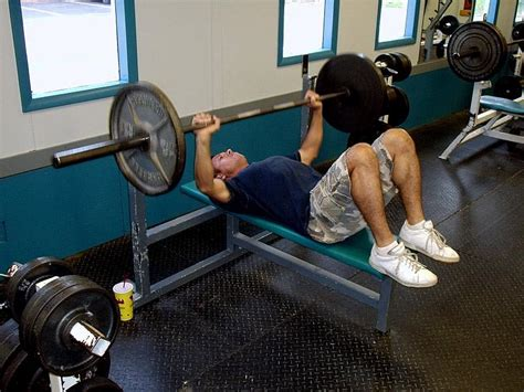 bench press to neck all time exercises train body and mind