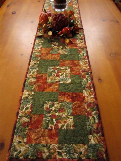fall table runners to autumn colors fall table runner on luulla