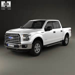 2014 Ford F 150 Cab Ford F 150 Crew Cab Xlt 2014 3d Model Humster3d