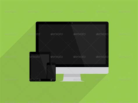 responsive design mockup pack flat devices responsive mockup pack by stefanparnarov