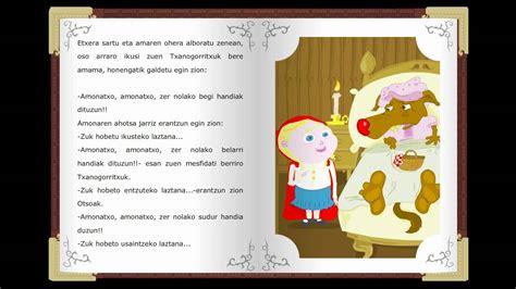 cuentos ilustrados de las 1409558924 txanogorritxu cuentos cl 225 sicos infantiles en euskera relatos cl 225 sicos childtopia youtube