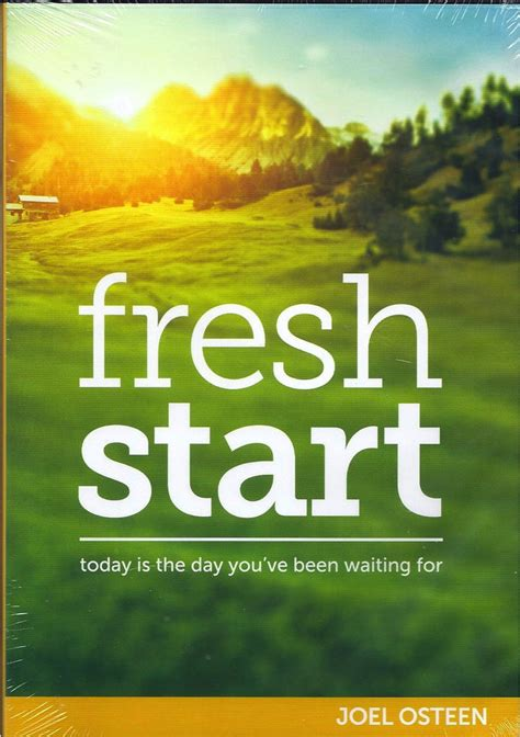 how to start fresh in joel osteen quot fresh start quot 4 cd ebay
