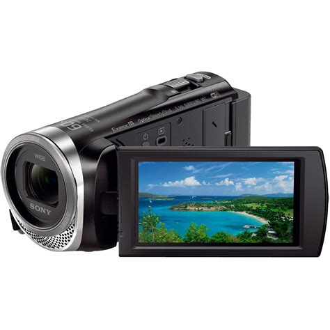 Sony Hdr Pj410 9 2 Mp Hitam sony hdr cx455 hd handycam camcorder with 8gb hdrcx455 b