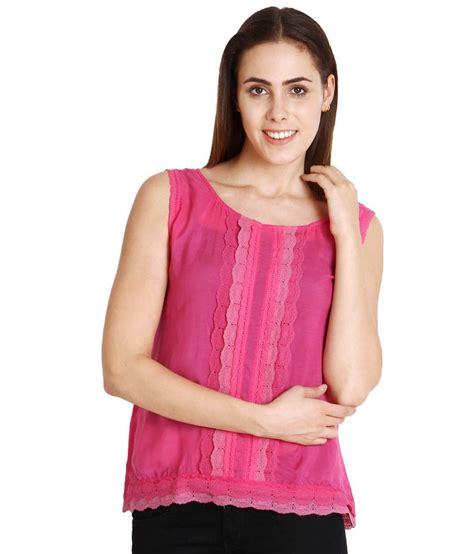 Yasmin Top 2in1 Pnk soie pink cotton tops buy soie pink cotton tops at best prices in india on snapdeal