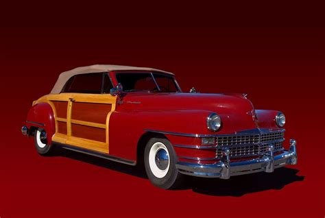 Tim Chrysler by 1946 Chrysler Town And Country Convertible Photograph By