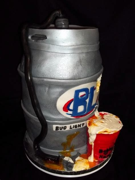 Keg Of Bud Light by 25 Best Ideas About Bud Light Cake On
