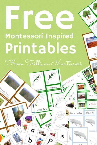 free montessori printable downloads free montessori inspired printables