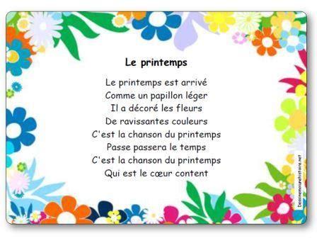 Le Printemps by Comptine Le Printemps Le Printemps Est Arriv 233