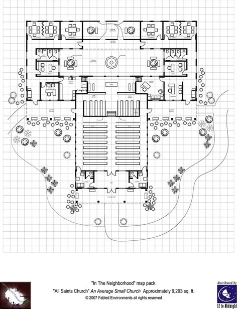 rpg floor plans modern floorplans neighborhood church fabled