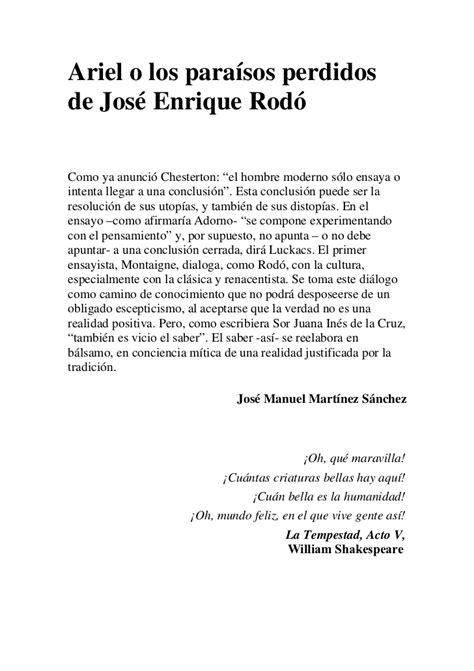 ENSAYO ARIEL DE JOSE ENRIQUE RODO PDF