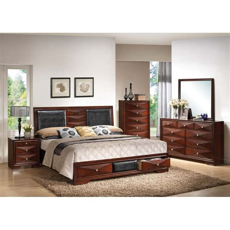 merlot bedroom set windsor merlot 4pc bedroom set