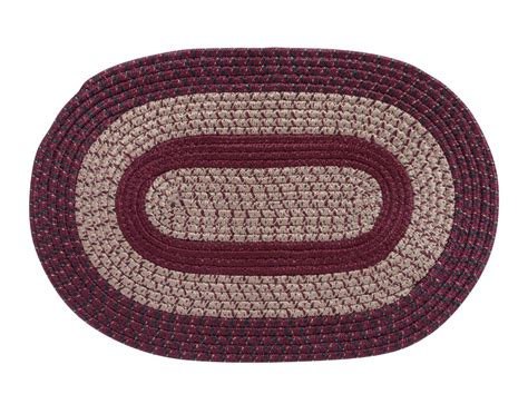 braided oval area rugs country braided oval area rug walmart