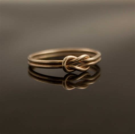 what are infinity rings solid 14k gold infinity knot ring hug ring by indulgentdesigns
