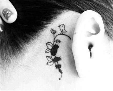 imagenes tatuajes detras de la oreja tatuajes de mujeres detr 225 s de la oreja tatuajes de mujeres