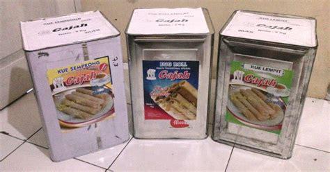 Kue Semprong Readystock produk kemasan kaleng yang menjamin kualitas produk egg