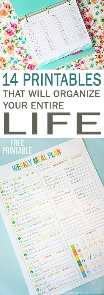 tips and tricks using free printables in home decor 14 printables that will organize your entire life 101