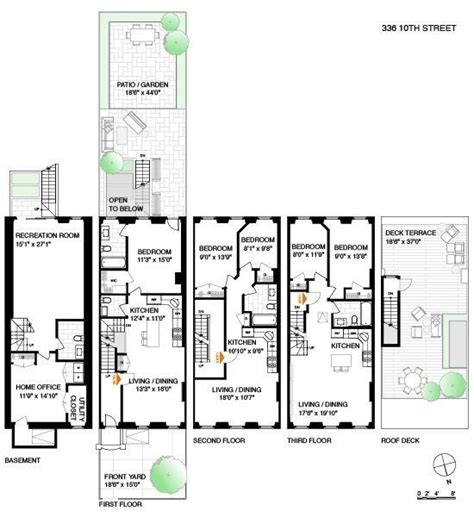 brooklyn brownstone floor plans pin by tracy boyd on floor plans pinterest
